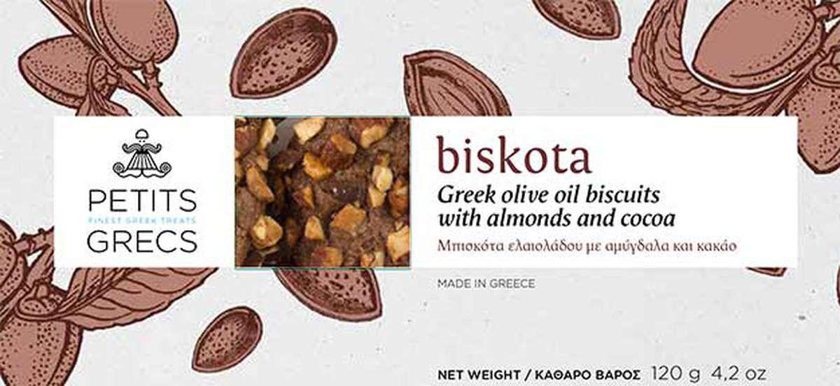 Biskota aux amandes, Petits Grecs (120 g)
