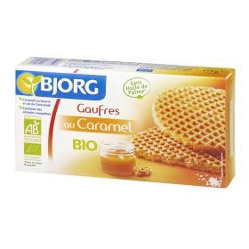 Gaufres au caramel BIO, Bjorg (175 g)
