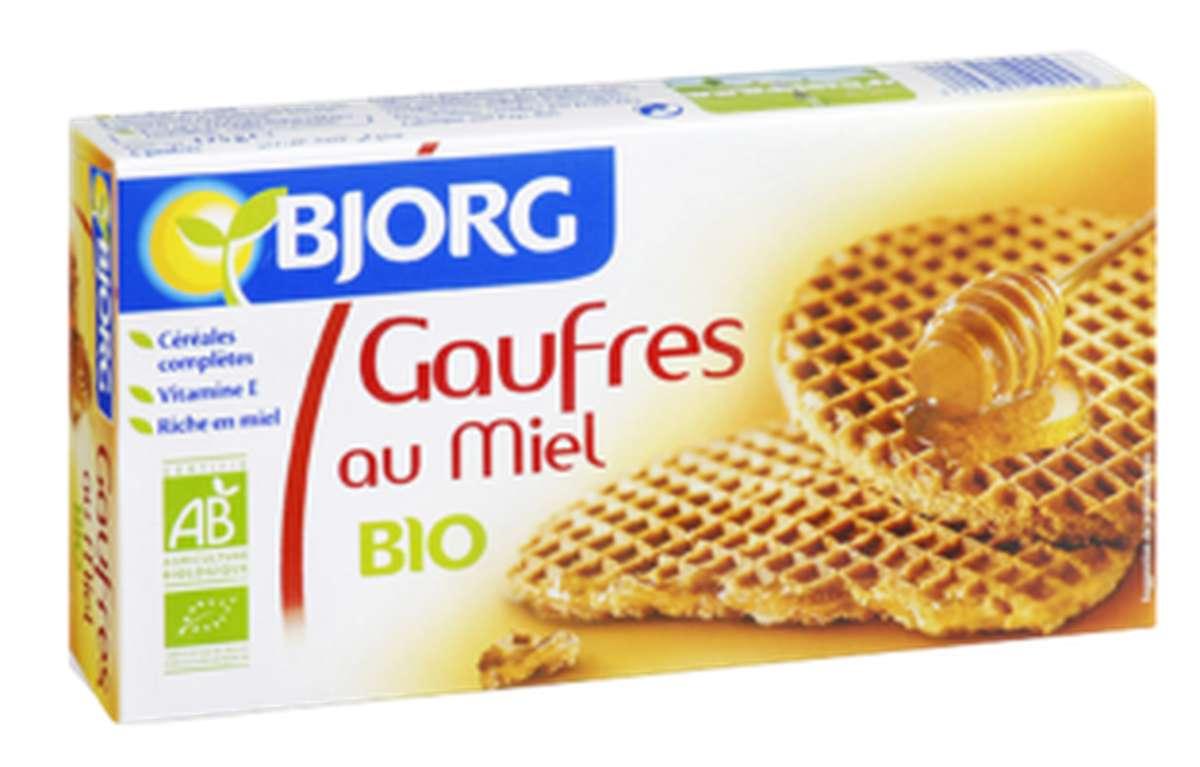 Gaufres au miel BIO, Bjorg (175 g)