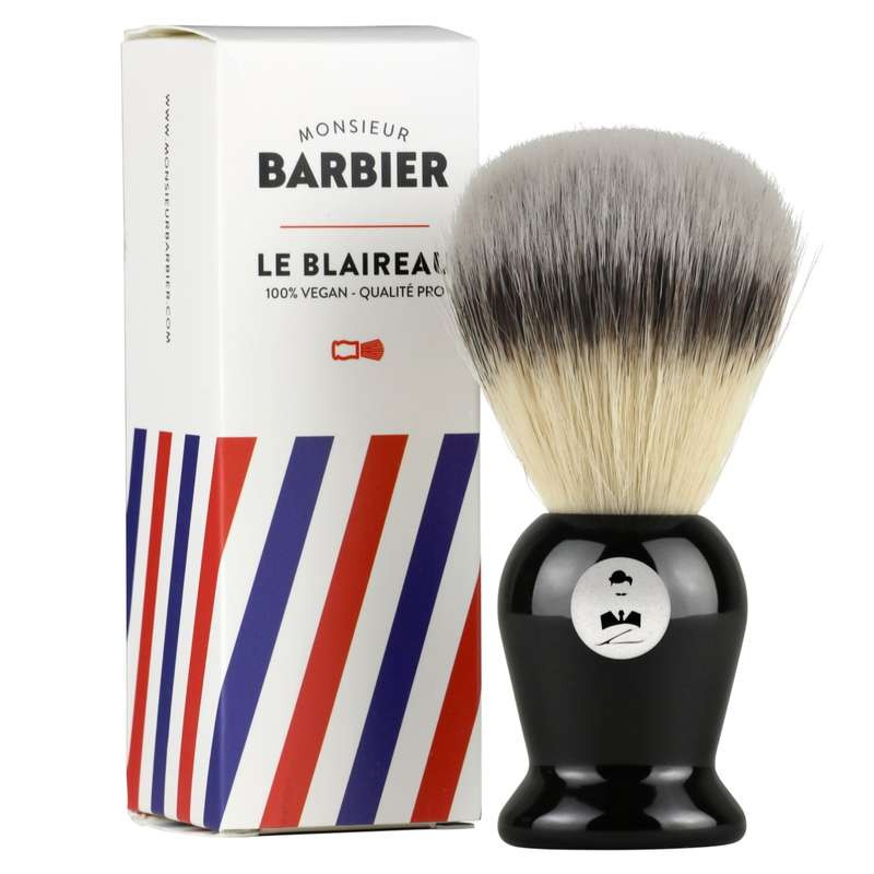 Blaireau de rasage vegan, Monsieur Barbier