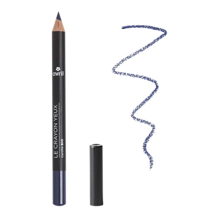Crayon yeux bleu nuit certifié BIO, Avril (1 g)