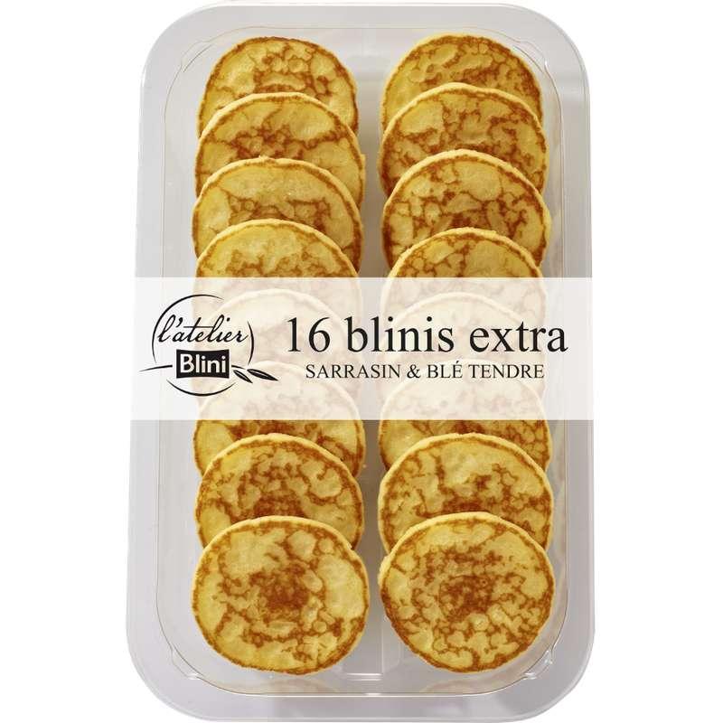 Mini blinis extra, L'atelier Blini (x 16, 165 g)