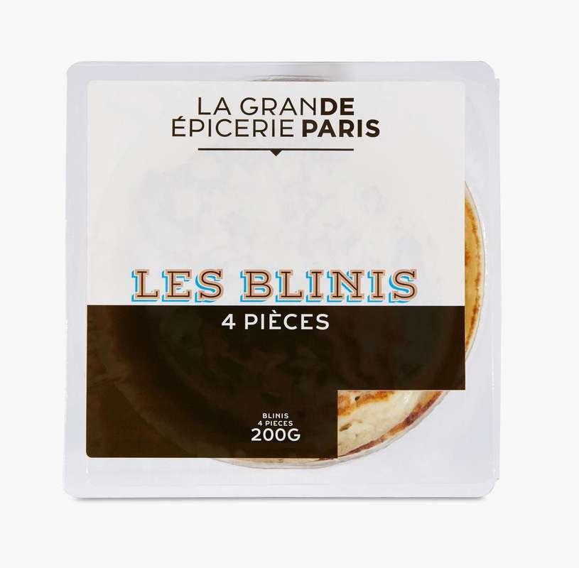 Blinis nature, La Grande Epicerie de Paris (x 4, 200 g)