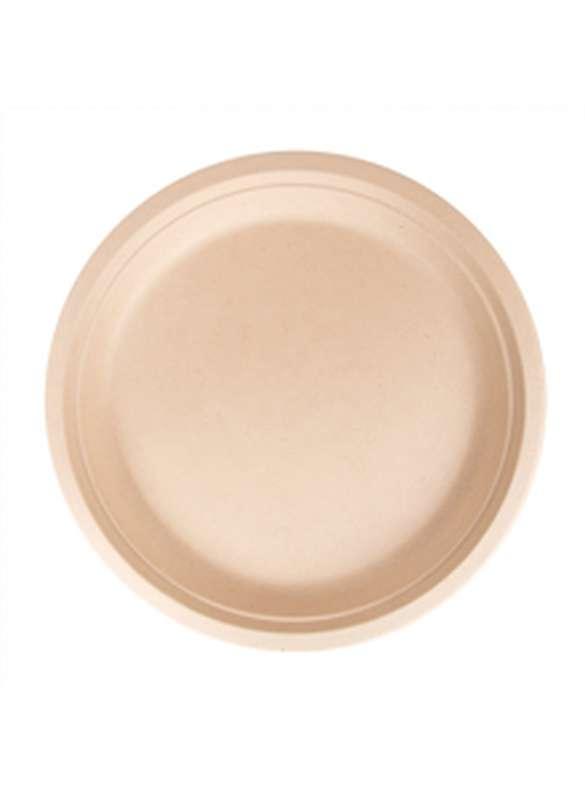 Assiette ronde en pulpe biodégradable Ø 15 cm
