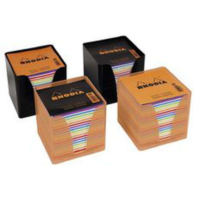 Bloc-cube papier couleurs, Rhodia (x 1)