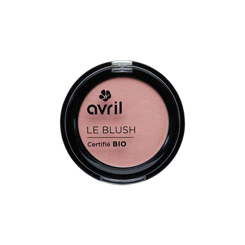 Blush rose nacré certifié BIO, Avril (2,5 g)