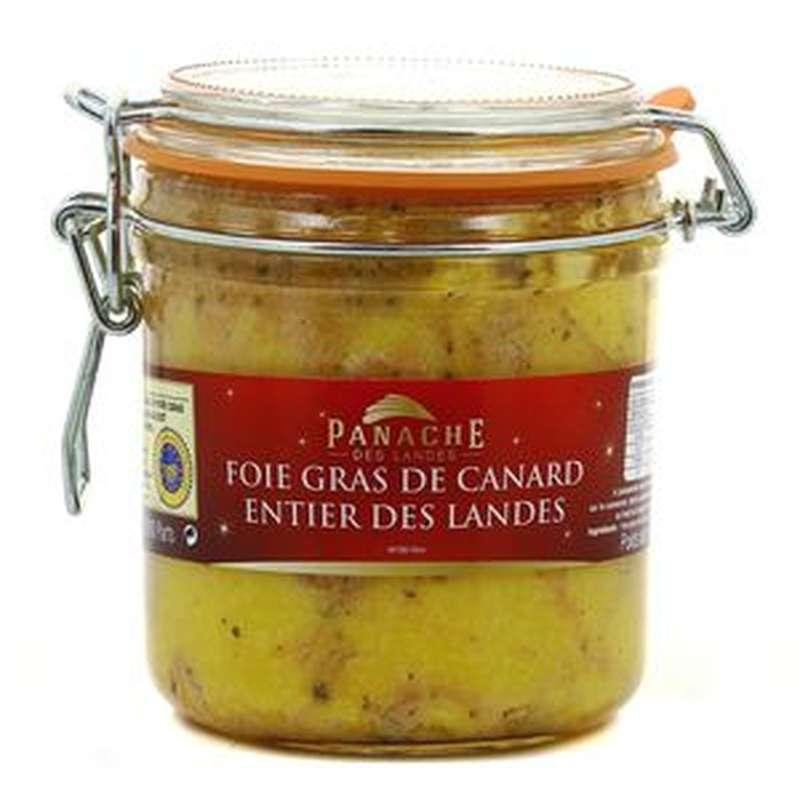 Foie gras de canard entier conserve IGP, Panache des Landes (460 g)