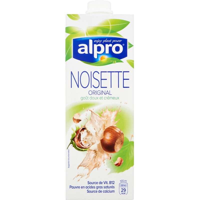 Boisson à base de noisette avec calcium et vitamines ajoutés, Alpro (1 L)