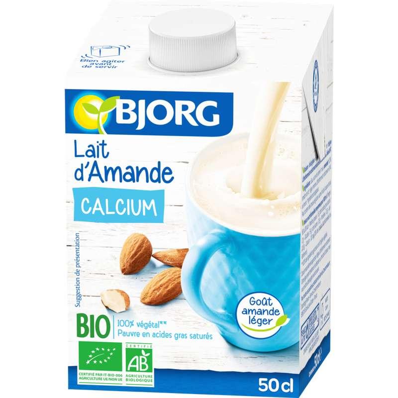 Lait d'amande calcium BIO, Bjorg (50 cl)