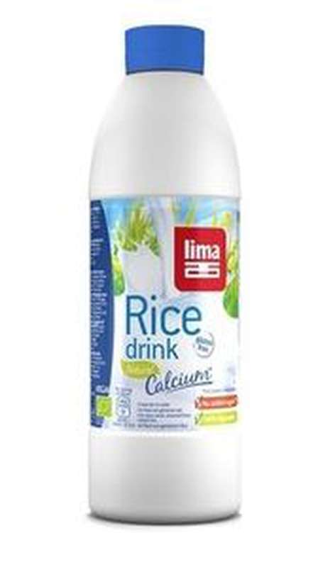 Boisson au riz BIO Rice drink natural Calcium, Lima (1 L)
