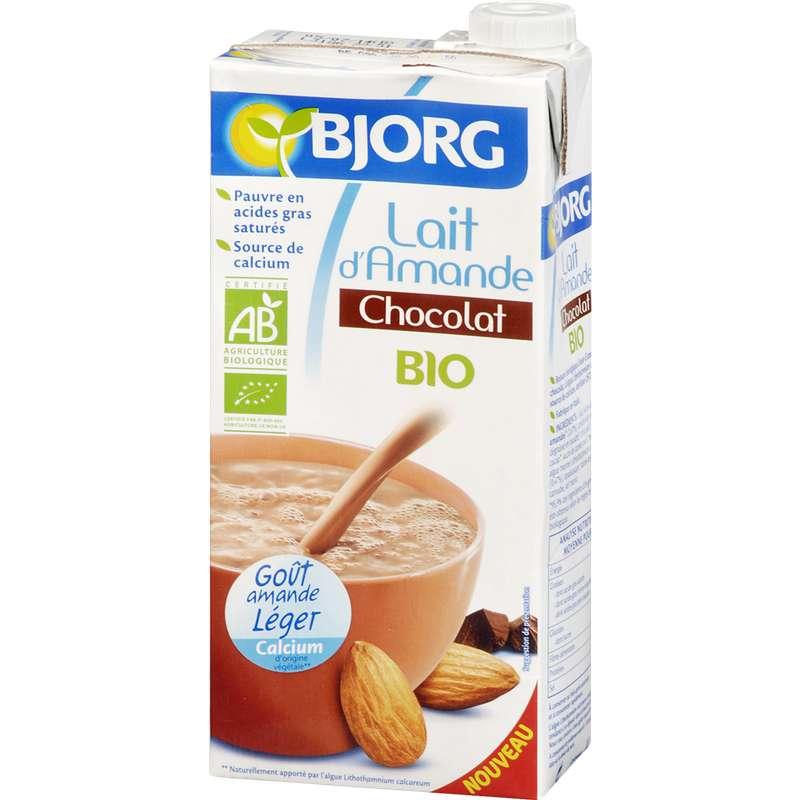 Boisson aux amandes au chocolat BIO, Bjorg (1 L)