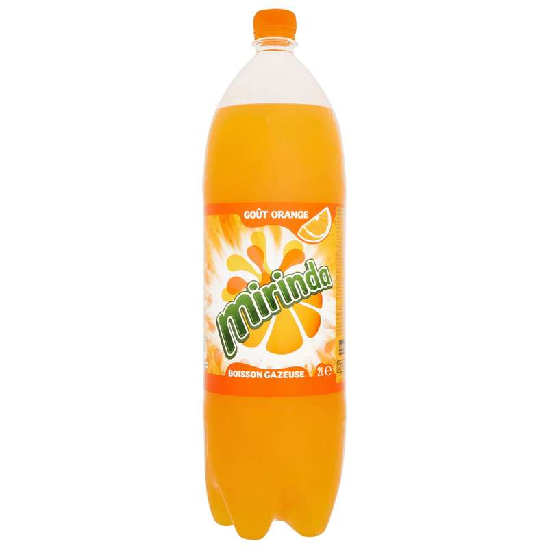 Boisson gazeuse à l'orange, Mirinda (2 L)