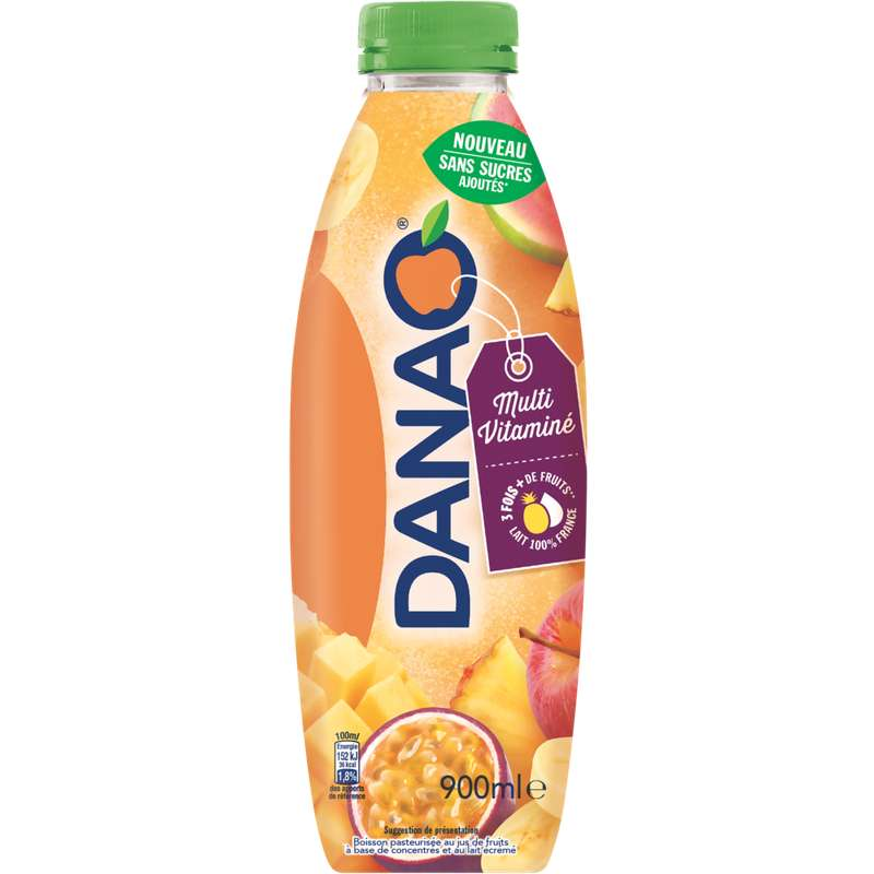 Danao 9 fruits multivitaminée (900 ml)