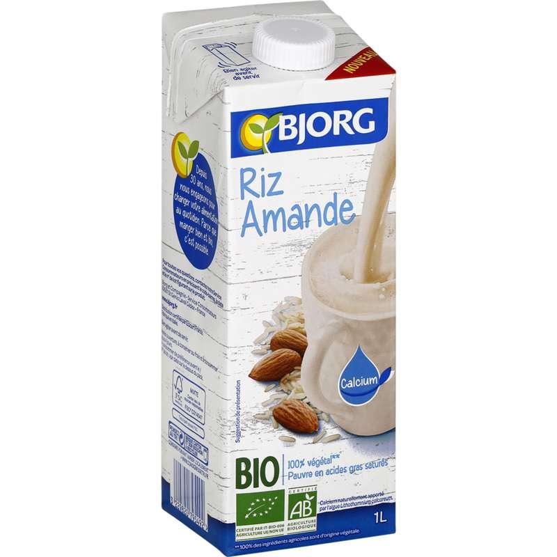 Boisson riz amande BIO, Bjorg (1 L)