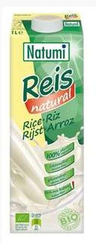Boisson végétale de riz BIO, Natumi (1 L)