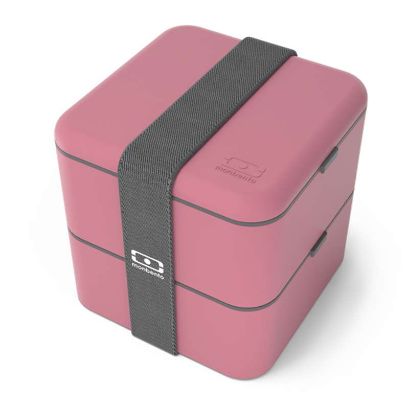 Boîte Bento carrée - rose Blush, Monbento