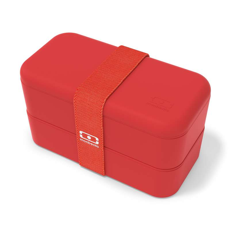 Boîte Bento - rouge Podium, Monbento