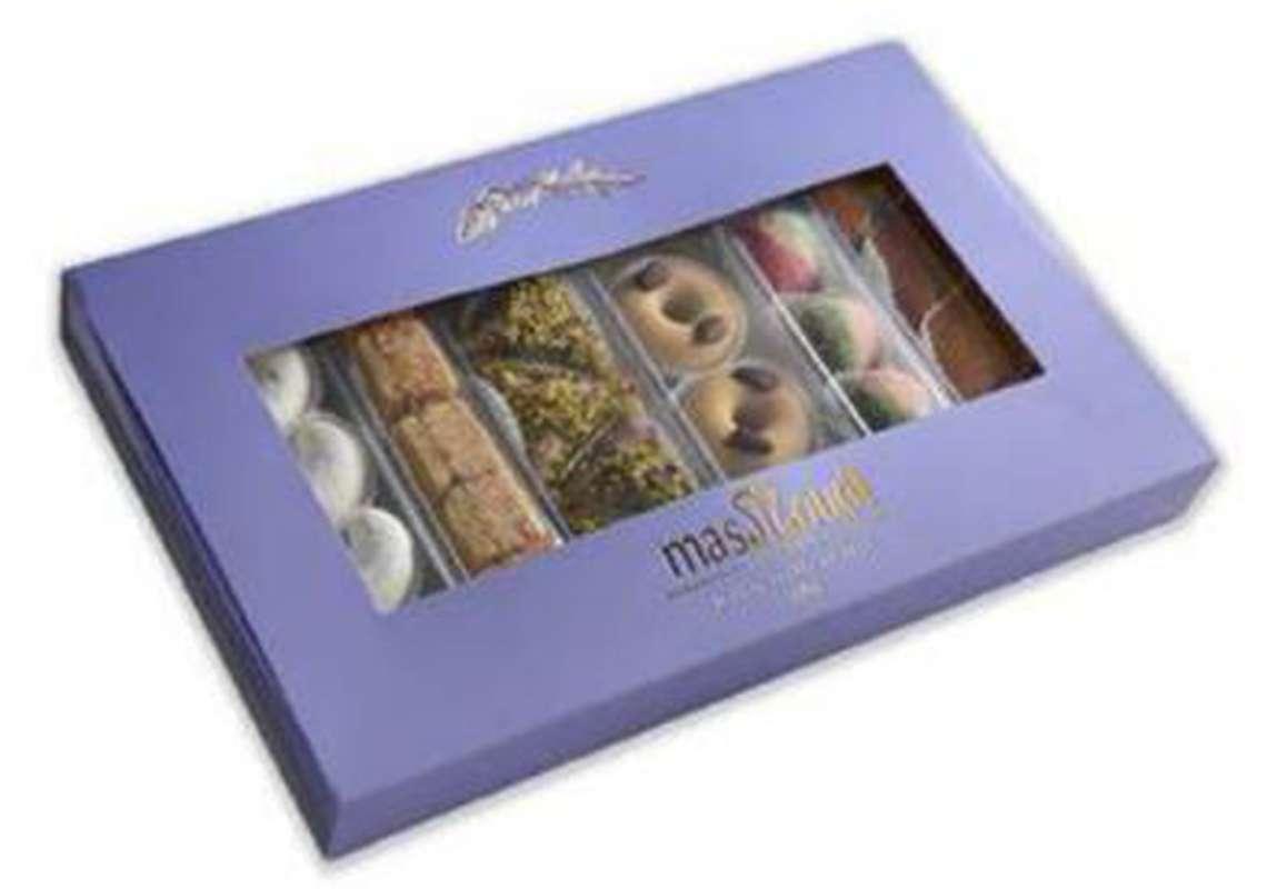 Coffret de 24 pâtisseries fines, Masmoudi (545 g)