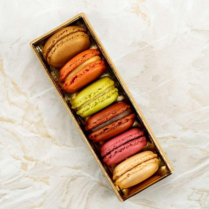 Boîte de 6 macarons, La Grande Épicerie de Paris (x 6, 102 g)