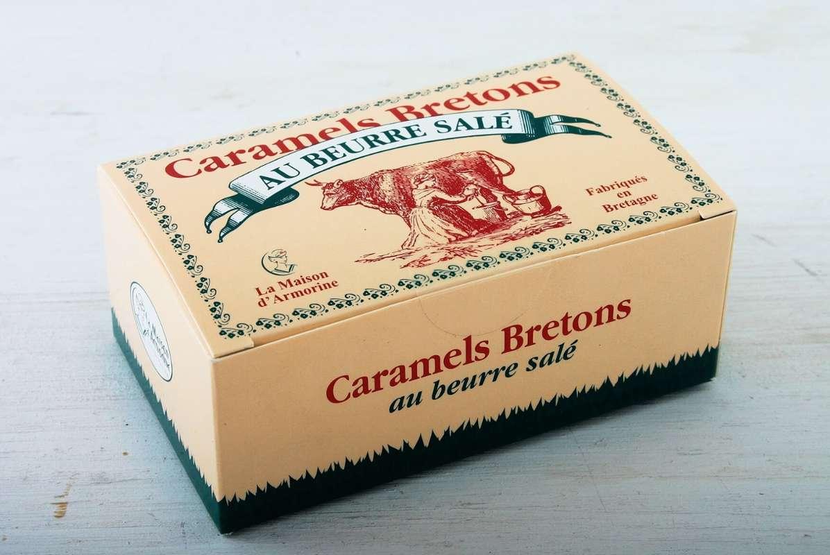 Boîte de caramels bretons, La Maison d'Armorine (150 g)