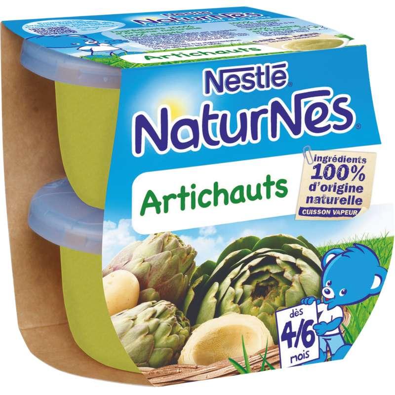 Artichauts - dès 4/6 mois, Naturnes Nestlé (2 x 130 g)