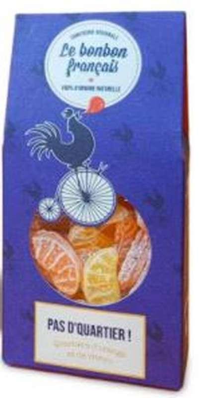 Bonbon Pas d'Quartier à l'orange et au citron, Le Bonbon Français (100 g)
