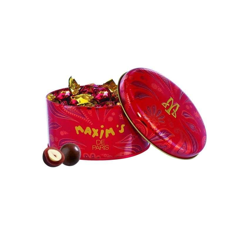 Bonbonnières de noisettes torréfiées chocolat au lait, Maxim's (40 g)