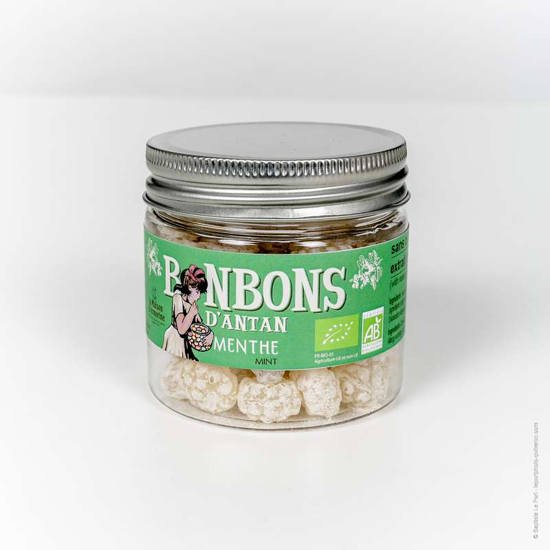 Bonbons à la menthe BIO, La Maison d'Armorine (120 g)