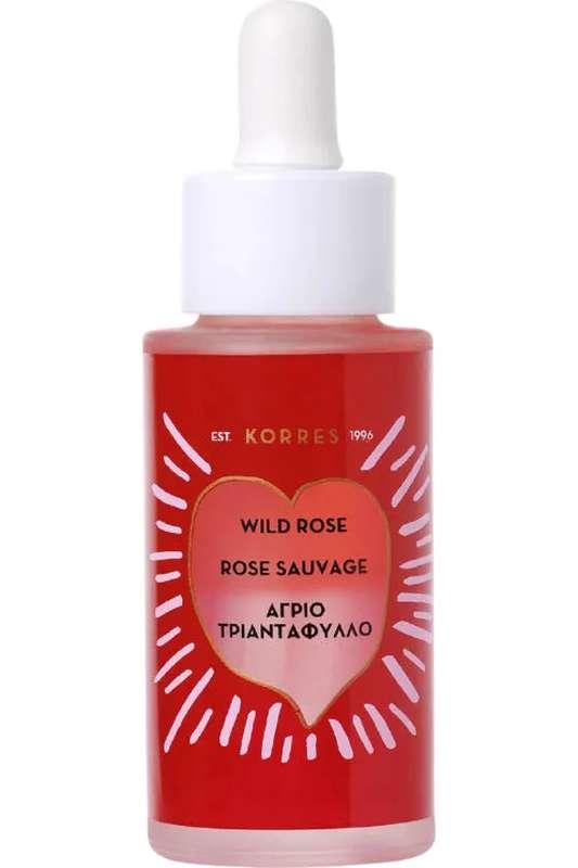 Booster bi-phase éclat avancé Rose Sauvage, Korres (30 ml)