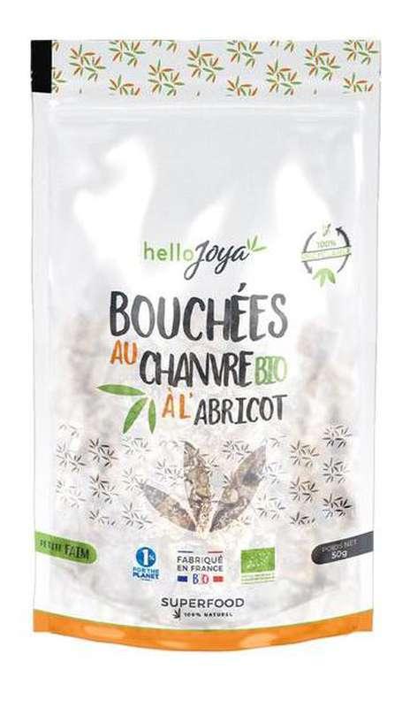 Bouchées au chanvre à l'abricot BIO, Hello Joya (50 g)