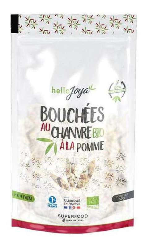 Bouchées au chanvre à la pomme BIO, Hello Joya (50 g)