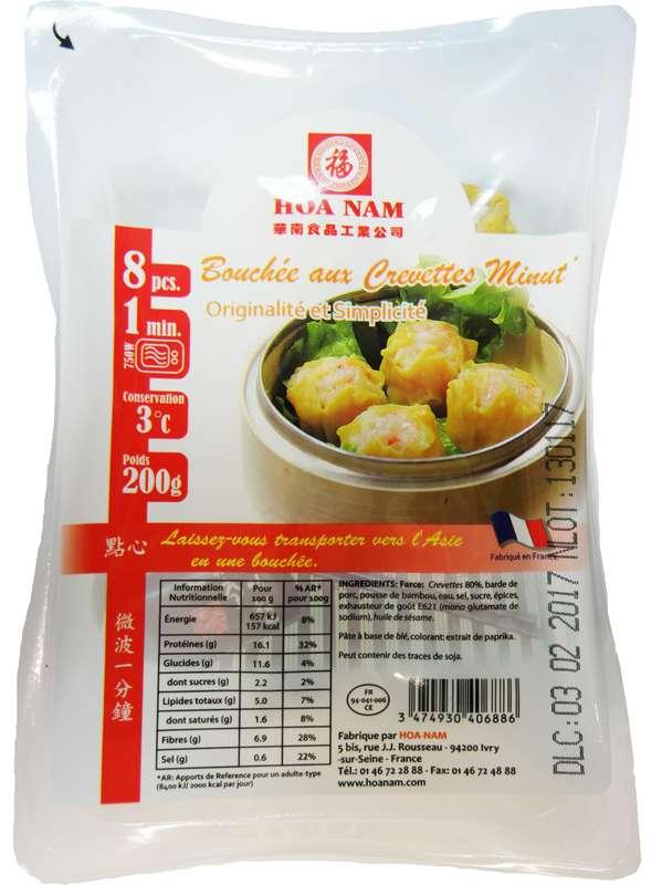 Bouchées aux crevettes Minut' 8 pièces, Hoanam (200 g)
