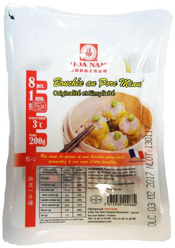Bouchées de porc Minut' 8 pièces, Hoanam (200 g)