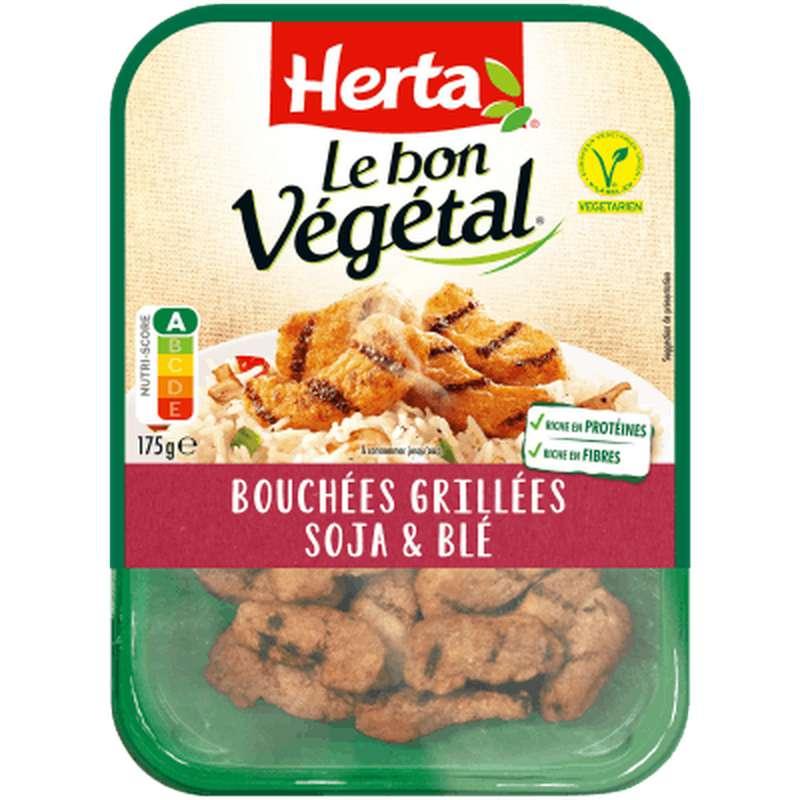 Bouchées grillés soja et blé Le Bon Végétal, Herta (175 g)