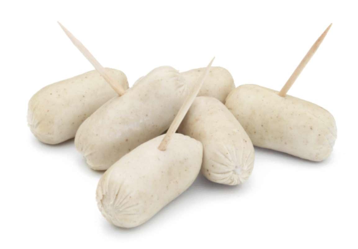 Petits boudins blancs à la truffe noire 2% format lunch, Hardouin (250 g)