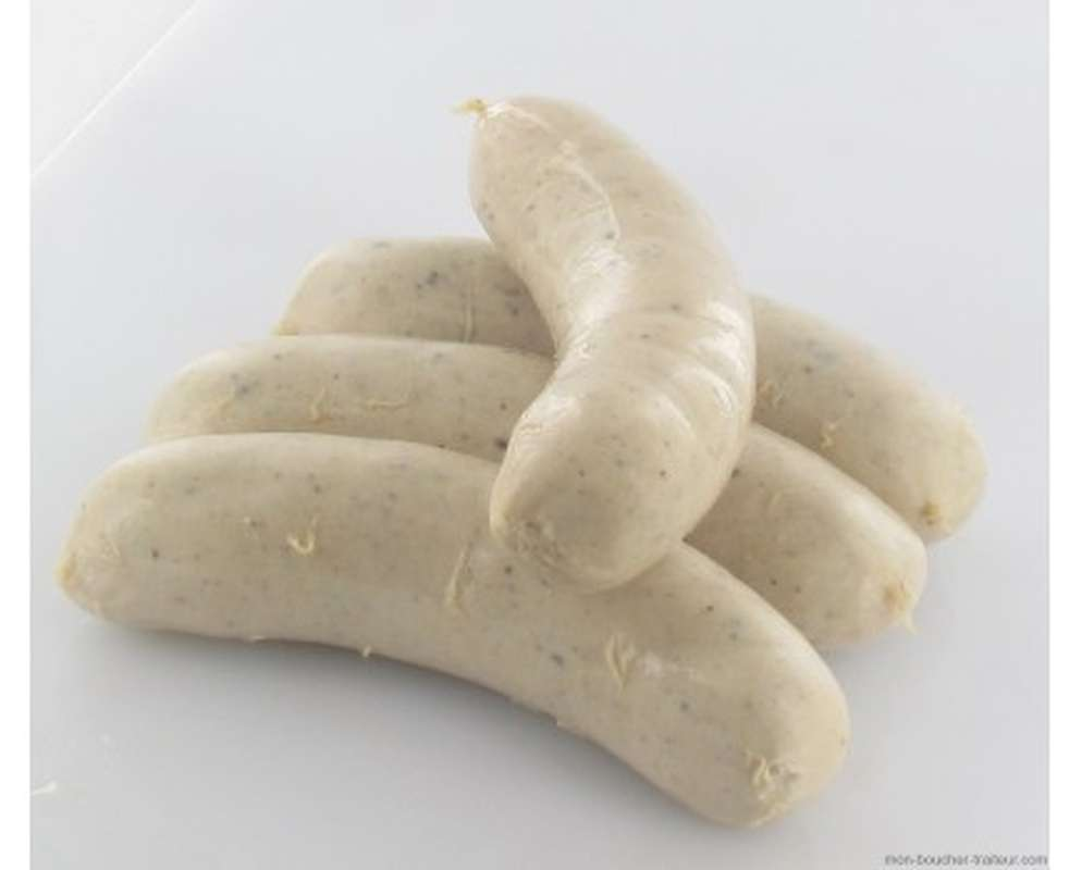Boudin blanc à la truffe noire 2%, Hardouin (x 4, environ 440 g)