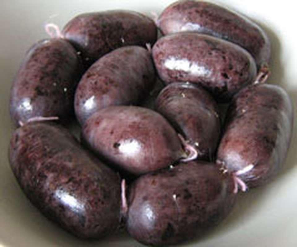 Boudin noir aux raisins, Hardouin (env. 250 g)