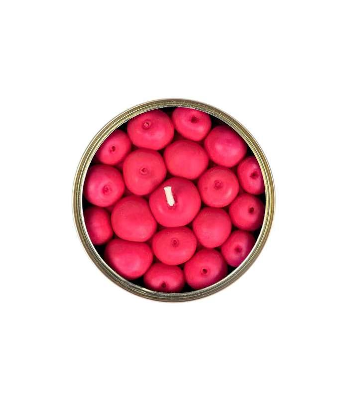 Bougie conserve Cerise parfum Fruits Rouges, CandleCan