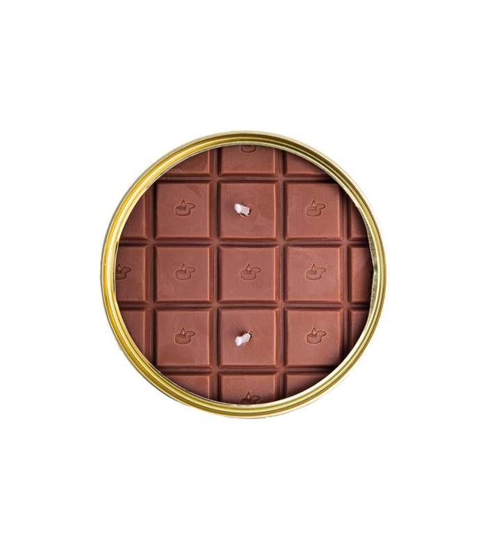 Bougie conserve Tablette parfum Chocolat, CandleCan