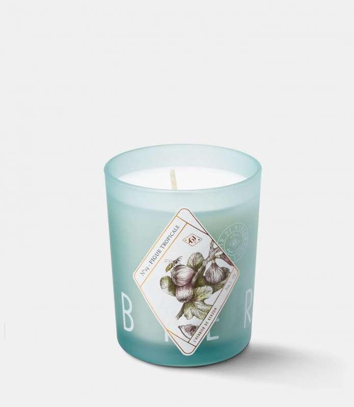 Bougie Parfumée L'Herbier Figue Tropicale, Kerzon (190 g)