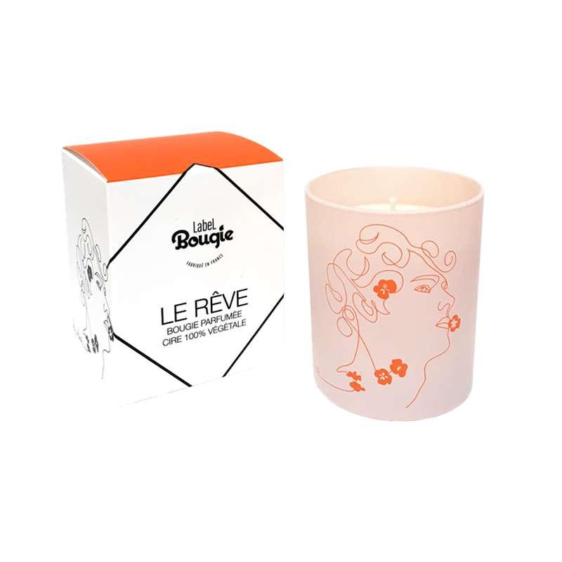 Bougie Rêverie Bohème - Le Rêve, Label Bougie (180 g)