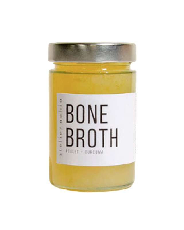 Bouillon de collagène Bone Broth BIO, Atelier Nubio (275 ml)