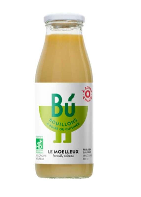 Bouillon poireau, fenouil - Le moelleux BIO, Bu (50 cl)