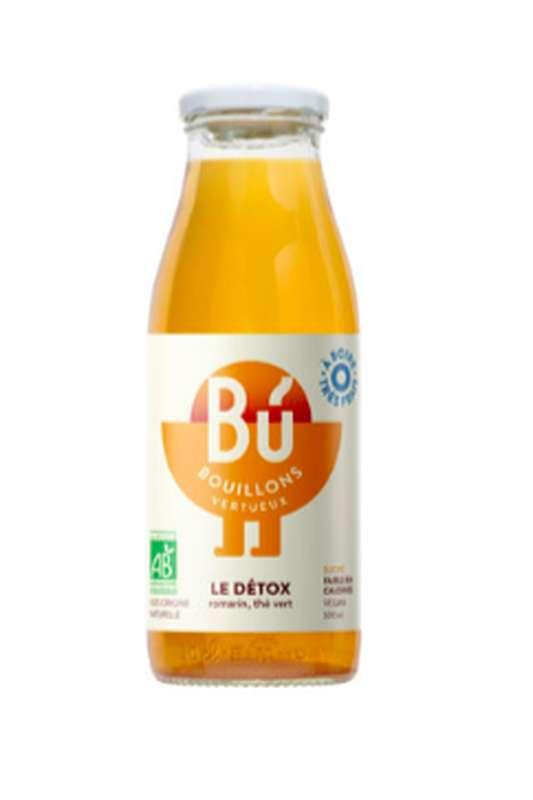 Bouillon romarin, thé vert - Le Détox BIO, Bu (25 cl)