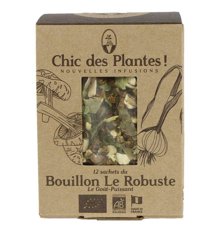 Bouillon Le Robuste digestion BIO, Chic des Plantes (12 sachets)
