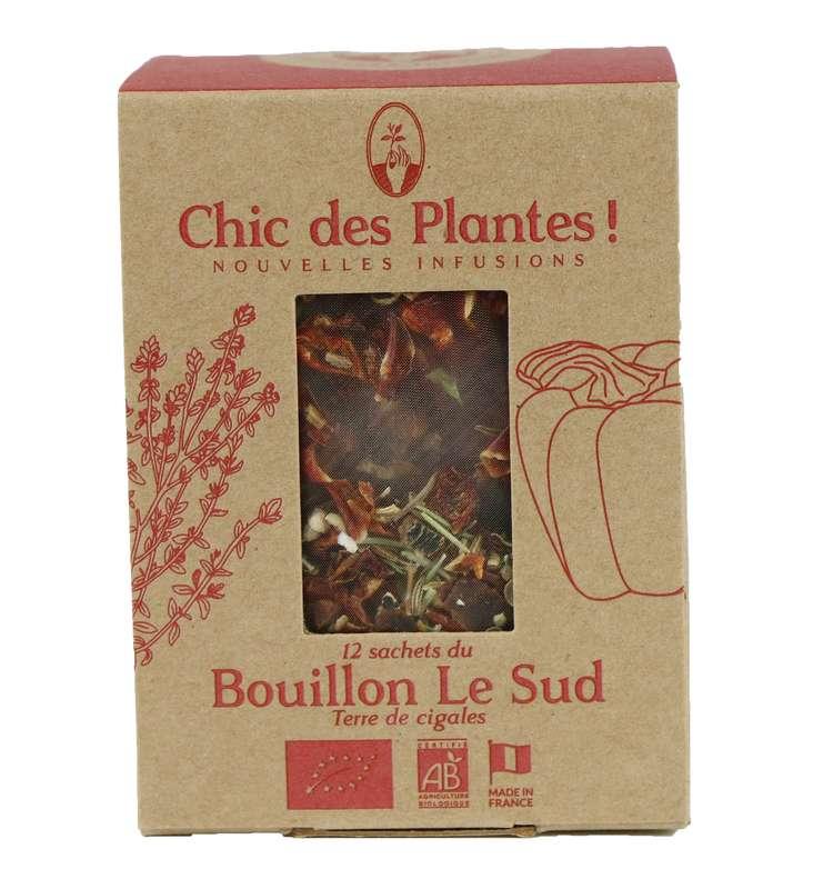 Bouillon Le Sud douceur BIO, Chic des Plantes (12 sachets)