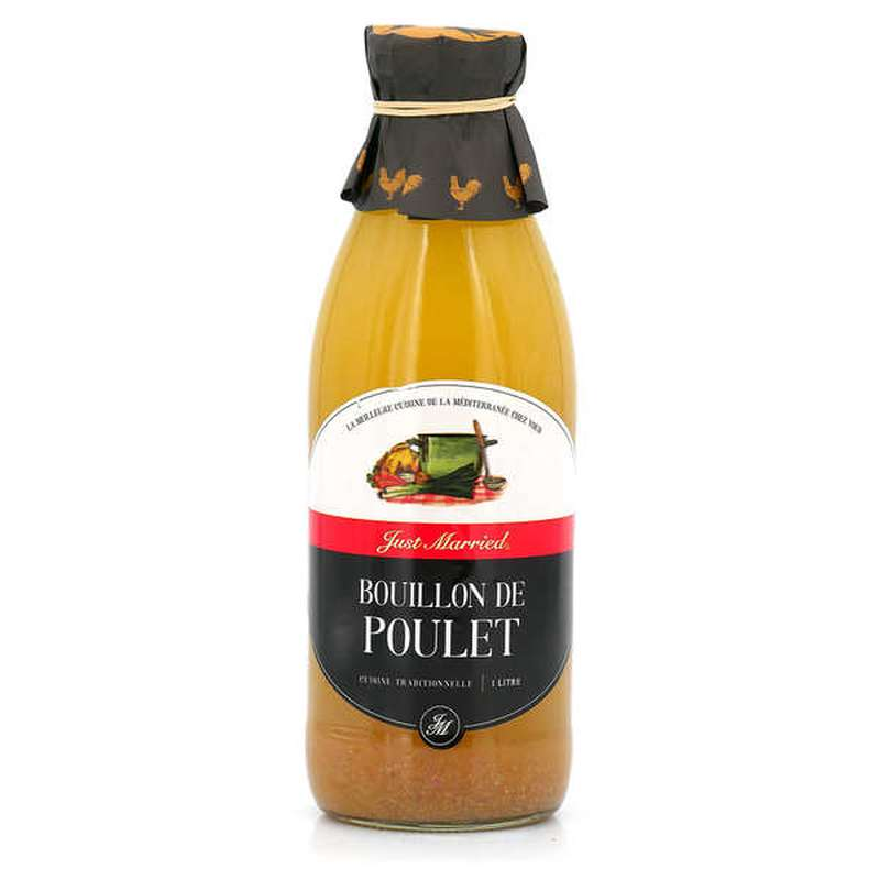 Bouillon naturel de poulet, Just Married (1 L)