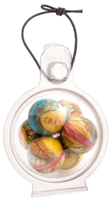 Boule de Noël pour sapin 60 mm, Chapon Chocolatier (54 g)