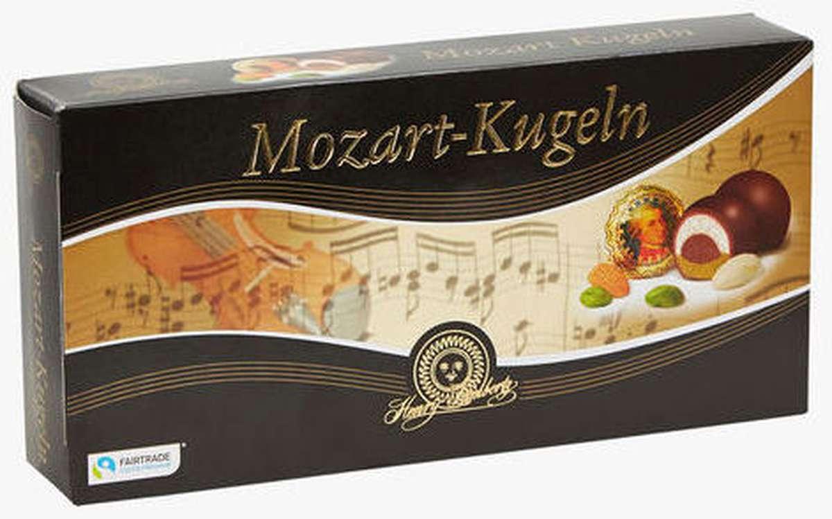 Boules de chocolat fourrés Mozart, Henry Lambertz (200 g)