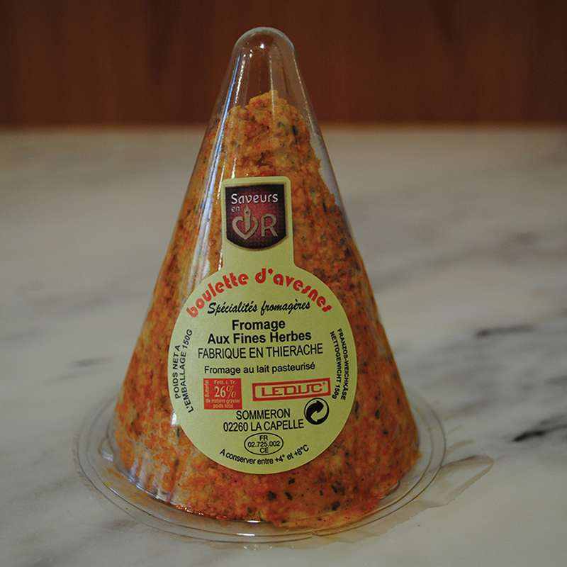 Boulette d'Avesnes rouge Leduc (environ 150 g)